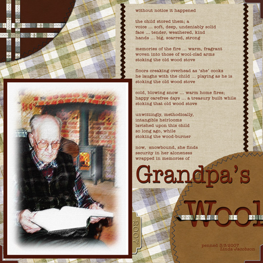 Grandpa's Wool by Linda Jacobson